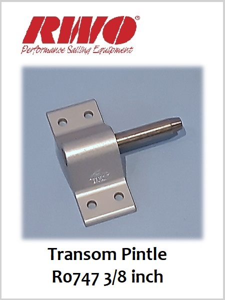 "Transom Pintle 3/8"" (4 holes)  R0747"
